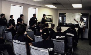 classroom security guard training in Alberta