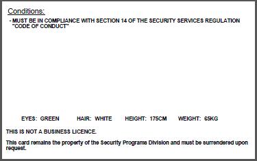ID card example